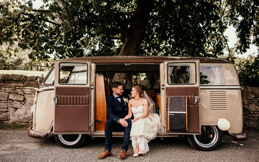 Hyde Bank Farm Romily – Heather and Ant's spring wedding